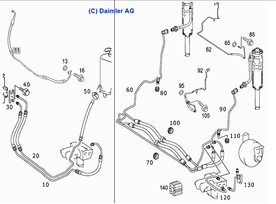 Mercede Benz 1995 S500 Wiring Diagram